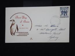 ANTARTIQUE - AUSTRALIE - Enveloppe Du 5  Juillet 1961 - à Voir - Lot P8054 - FDC