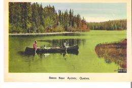 Un Scene Pres De Aylmer, Quebec  Scene Near Aylmer - Autres