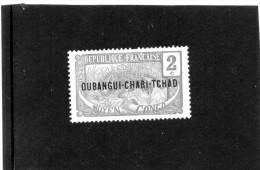 B - Oubangui - Chari - Africa Equatoriale Francese (nuovo Senza Gomma) - Ubangui (1915-1936)