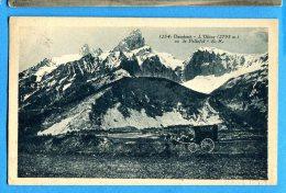Madd469, L'Obiou, Pellafol, Dauphiné, 1254,  Diligence, Calèche, Circulée 1933 - Non Classificati