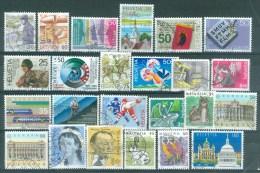 HELVETIA - Sélection Nr 307 - Gest./obl. - Cote 25,20 € - Collections