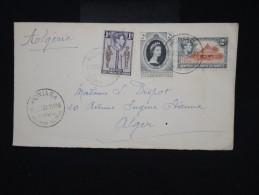 GRANDE - BRETAGNE - ILES SALOMON - Enveloppe De Honiara Pour Alger En 1953 - Affr. Plaisant - à Voir - Lot P8057 - British Solomon Islands (...-1978)