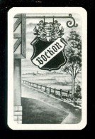 Speelkaart ( 923 ) Dos D´ Une Carte à Jouer - Bier Bière Bieren Bières Brasserie Brouwerij -   BOCKOR Pils - Barajas De Naipe