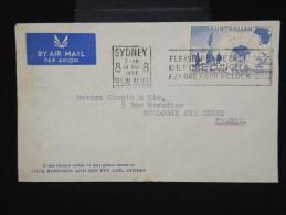 AUSTRALIE - Enveloppe De Sydney Pour La France En 1957 - Aff. Plaisant - à Voir- Lot P8060 - 1952-65 Elizabeth II : Pre-Decimals