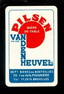 Speelkaart ( 945 ) Dos D´ Une Carte à Jouer - Bier Bière Bieren Bières Brasserie Brouwerij -  Bruxelles - Barajas De Naipe
