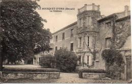 34 LE BOUSQUET-d'ORB  Le Château - France