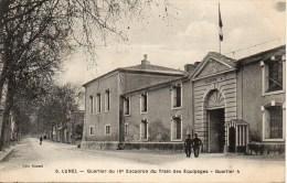34 LUNEL  Quartier Du 16e Escadron Du Train Des Equipages - Lunel