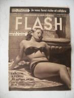 Flash Grand Reportage, Maria Vincent  Tente De Se Suicider & Autres Infos People 1950 Complet 15 Pages - People