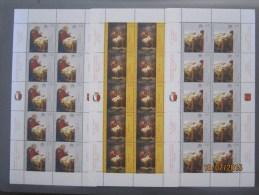VATICANO  2007 MF 1463-65  NATALE DIPINTO DI GIUSEPPE CALI CONG.CON MALTA  MNH ** - Blocchi E Foglietti