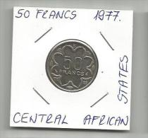 C1 Central African States 50 Francs 1977. - Monnaies