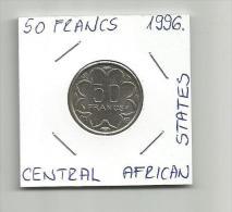 C2 Central African States 50 Francs 1996. - Otros – Africa