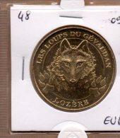Monnaie De Paris : Les Loups De Gévaudan - 2009 - Monnaie De Paris
