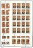1990 Vaticano Vatican NATALE  CHRISTMAS 20 Serie Di 5v. In Foglio MNH** Sheet - Nuovi