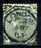 Gran-Bretagna-139 - 1880-81 - Y&T/U N.67 (o) - Filigrana (11) - Privo Di Difetti Occulti. - 1840-1901 (Victoria)
