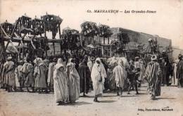 CPA, Rare, Marrakech, Les Grandes Roues, Attraction Foraine, Très Animée, Félix éditeur - Marrakech