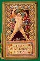 PICCOLO CALENDARIO FESTE CINQUECENTESCHE ITALIANE 1924 - Calendari