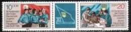 DDR 2609-2610  Postfrischer Dreierstreifen ** (4072) - Unused Stamps
