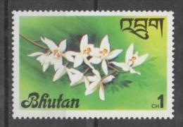 Bhutan 1976 - Orchidee Orchids Fiori Flowers MNH ** - Bhutan