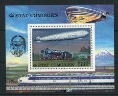 COMORES ( BLOC ) :  Y&T  N°  8    BLOC  NEUF   SANS  TRACE  DE  CHARNIERE , A  VOIR . - Comoren (1975-...)