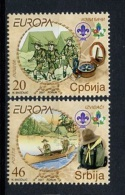 Europa CEPT Serbie - Serbia - Serbien 2007 Y&T N°195 à 196 - Michel N°194 à 195 *** - Europa-CEPT