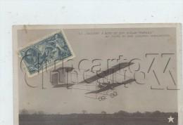 London (Royaume-Uni, London) : GP Avion Biplan Farman Aviateur Paulhan Raid Londres-Manchester In 1910 (lively) PF - London
