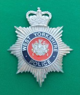 Insigne Métallique West Yorkshire Police - Policia