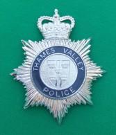 Insigne Métallique Thames Valley Police - Police & Gendarmerie