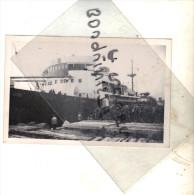 """photo bateau navire identifi� """" DJEBEL NADOR """" 1938 DANTZIG saisi PAR  ITALIE italie 1942 NOTTO CIE NAVIGATION MIXTE"""