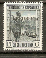 GUINEA EDIFIL 220* MLH - Guinea Española