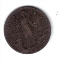 VITT. EM. III° 1900-1943 5 Cent 1913 MB D.3448 - 1861-1946 : Reino