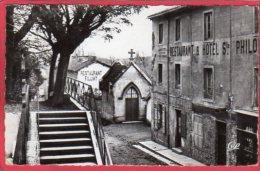 CPSM 01 ARS Chapelle De Notre Dame De La Salette  ( Restaurant Filliat -  Hotel   * Format CPA - Ars-sur-Formans