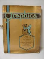 AF. Lot. 568. Graphica. 1934 N° Spécial Fédération Patronale Belge Des Industries Du Livre Et Des Maîtres Imprimeurs - Books, Magazines, Comics