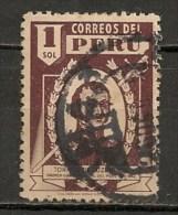 Timbres - Amérique - Pérou - 1945/46 - 1 Sol - - Peru