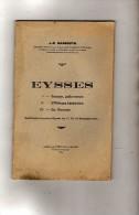 Lot & Garonne - Eysses - L´abbaye - Saint - Sernin - J.R. Marboutin - Imp. Pénillou & Dayma  Villeneuve Sur Lot - 1939 - Aquitaine
