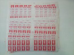 LOT Marianne Bi-centenaire validit� permanente 1993 0,20gr = 0,75ct euro 600 PIECES
