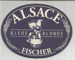 SOUS-BOCK (BEER CERVEZA BIRRA BIER) - FISCHER BLONDE. - Sous-bocks