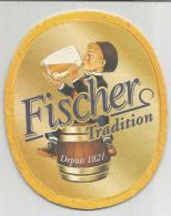 SOUS-BOCK (BEER CERVEZA BIRRA BIER) - FISCHER TRADITION. - Sous-bocks