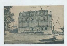 Flixecourt (80) : Le Château Vue Du Parc En  1930 (PF. - Flixecourt