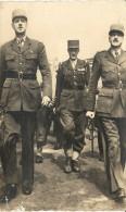 LES  GENERAUX   DE  GAULLE   LECLERC    ET   KOENIG - Weltkrieg 1939-45