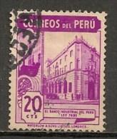 Timbres - Amérique - Pérou - 1938 - 20 Cts - - Peru