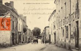 79 Cerizay. La Grand'Rue - Cerizay