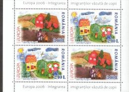 CEPT Rumänien Block 374 II MH Integration  MNH ** Postfrisch - Europa-CEPT