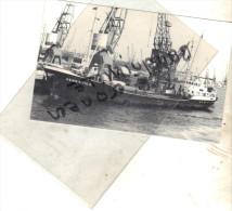 "photo bateau navire identifi� "" HENRIETTE H "" adolf feindt rfa 1964 bodewes mortenshoek Allemagne"
