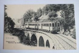 CHEMIN DE FER  - MONTREUX LES AVANTS - 1260 - Suisse