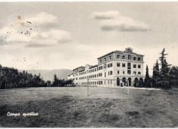 Vicenza Bassano Del Grappa Collegio Scalabrini Veduta Campo Sportivo Di Calcio Anni/50 - Calcio