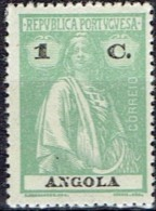 PORTUGAL ANGOLA # STAMPS FROM YEAR 1914 STANLEY GIBBONS 298 - Angola