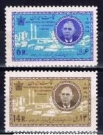 IR+ Iran 1963 Mi 1168-69 Mnh De Gaulle - Iran