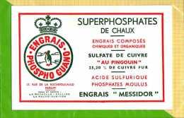BUVARD & Blotting Paper :Superphosphates De Chaux Engrais Composés - Agriculture