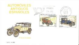 BARCELONA SPD DE AUTOMOVILES ANTIGUOS ESPAÑOLES DEL AÑO 1977 (CAR-COCHE) - Coches