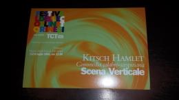 C-40921 TORINO FESTIVAL DELLE COLLINE KITSCH HAMLET SCENA VERTICALE - Vari